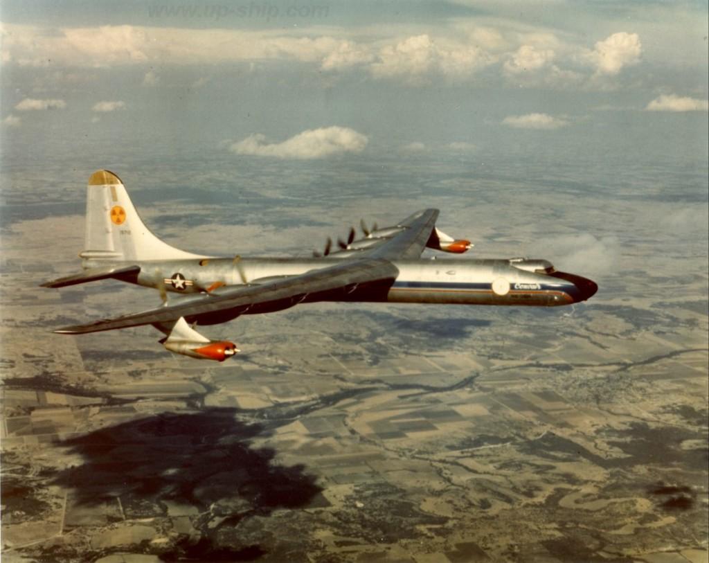 NB-36H - американский самолёт для испытания авиационного ядерного реактора