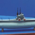 Подводная лодка «Минога» — первая в мире, оснащенная реверсивным дизелем