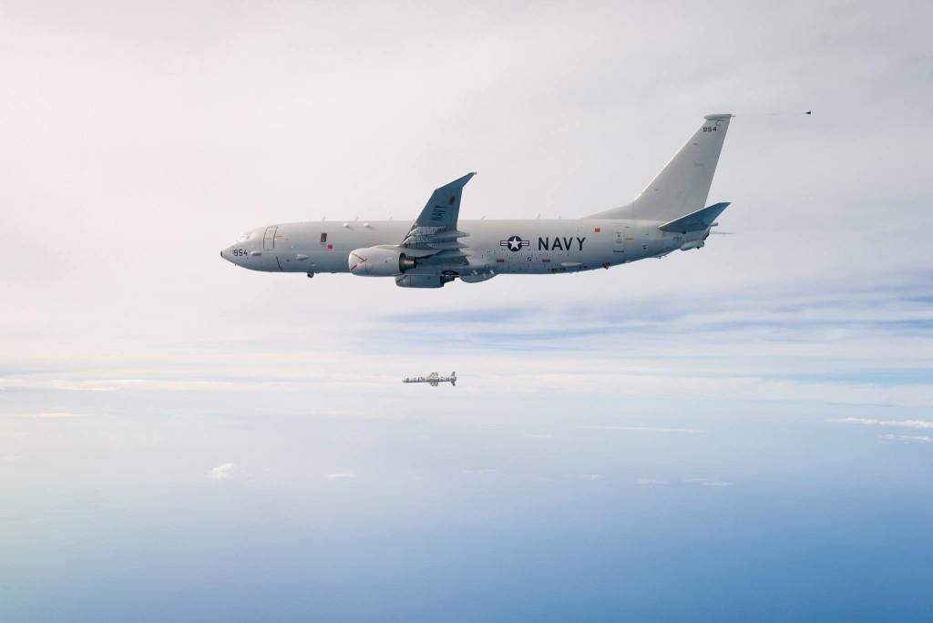 "Противолодочный самолёт ВМС США Р-8А ""Посейдон"""