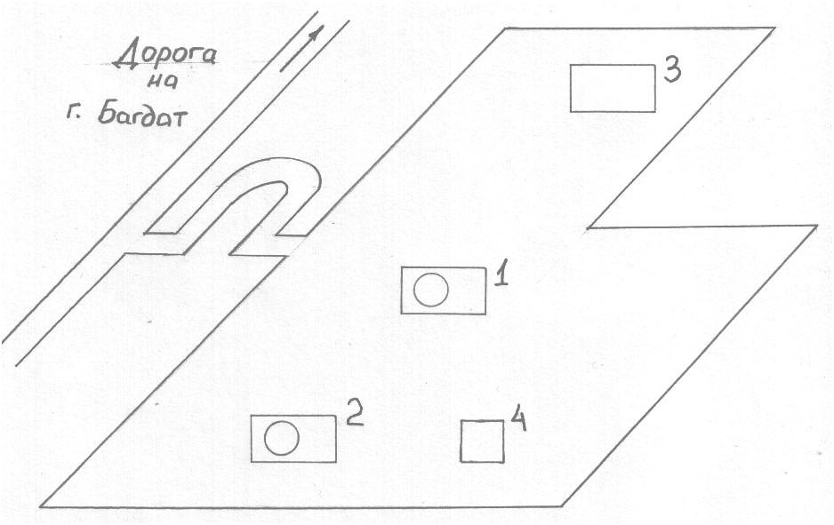 """Схема ядерного исследовательского центра им. """"Июльской революции"""" в г.Тувейте"""