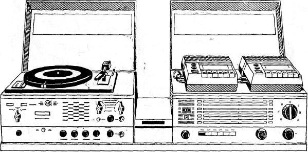 Общий вид войскового радиотрансляционного комплекта ВРТК-50