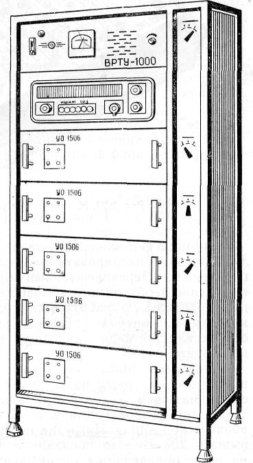 Войсковые радиотрансляционные установки ВРТУ-1000