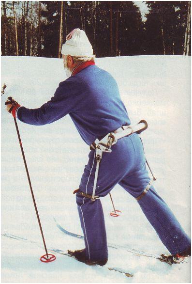 Лыжный экзоскелет-1