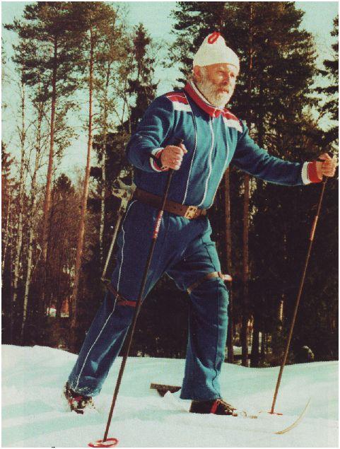 Лыжный экзоскелет-2