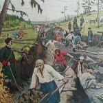 Создание транспортной инфраструктуры России при Петре I