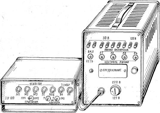 Общий вид трансляционной установки ТУ-100БУ