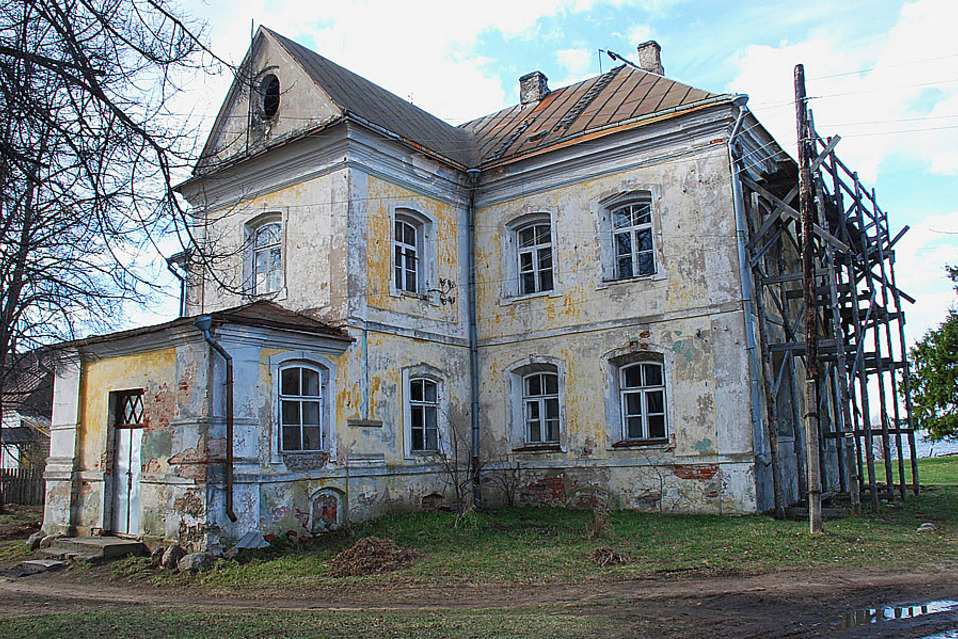 Дом в Вышнем Волочке, где жил М.И.Сердюков