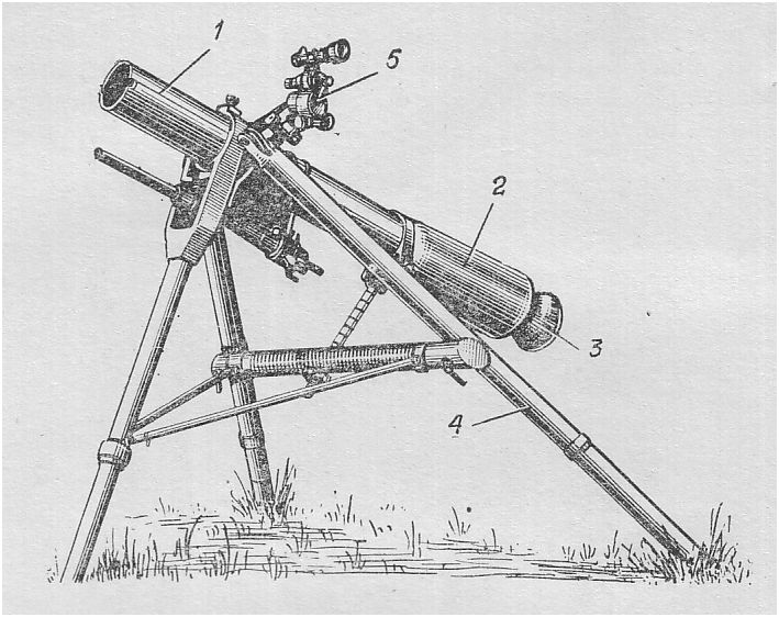 Безоткатное орудие М28 Дэви Крокетт