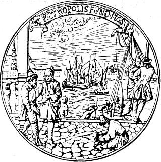 Медаль Нартова в честь основания Петербурга