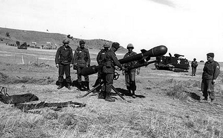 Безоткатное орудие М29 Дэви Крокетт