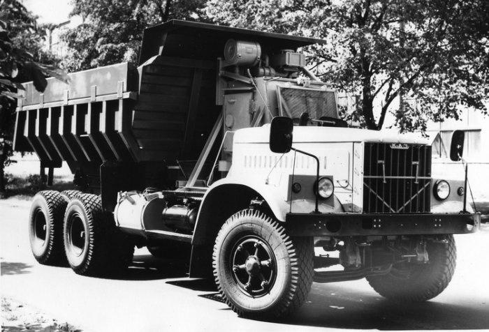 Модификация автомобиля КрАЗ-256Б