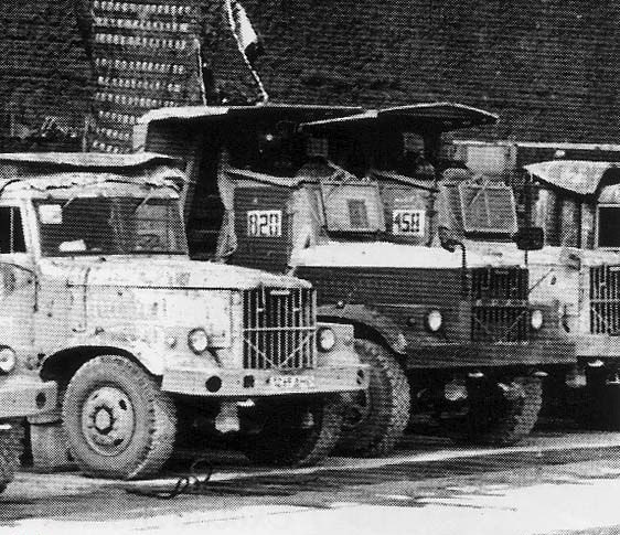 Модификация автомобиля КрАЗ-256Б (справа)