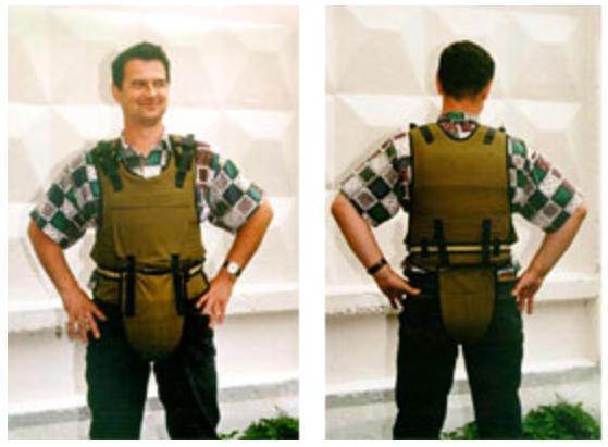 Комплект защитной одежды строителя КЗО-2