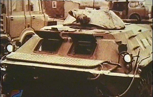 Модификация БТР-70 с дополнительной свинцовой защитой