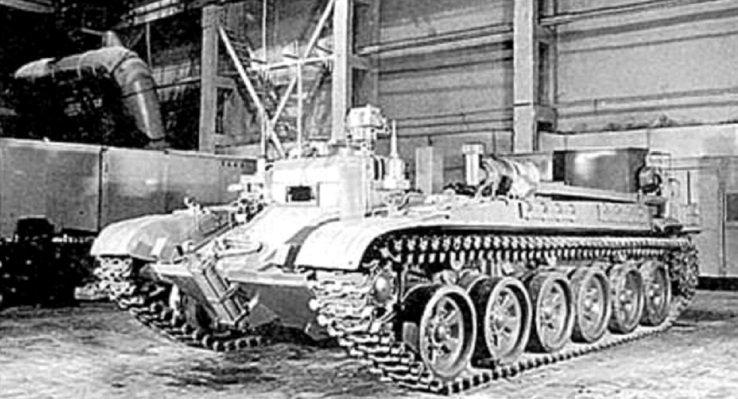 Роботизированный комплекс «Клин». Машина управления на базе ИМР-2