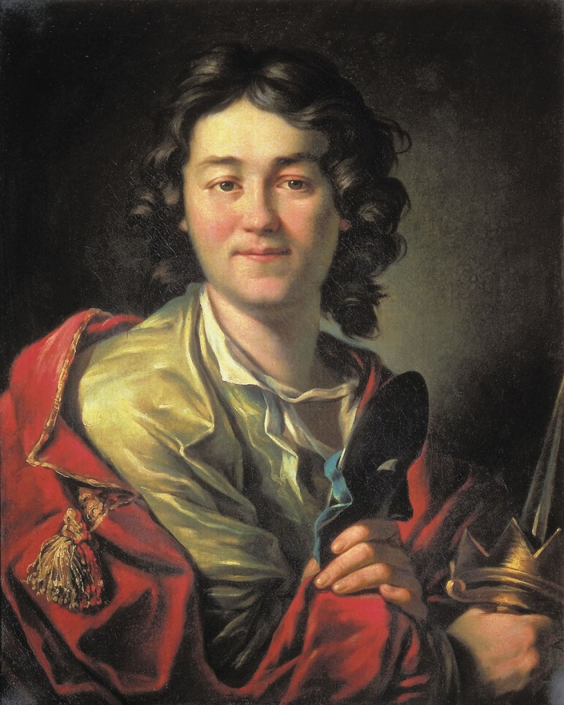 Ф.Г. Волков. Художник А.П. Лосенко. 1763