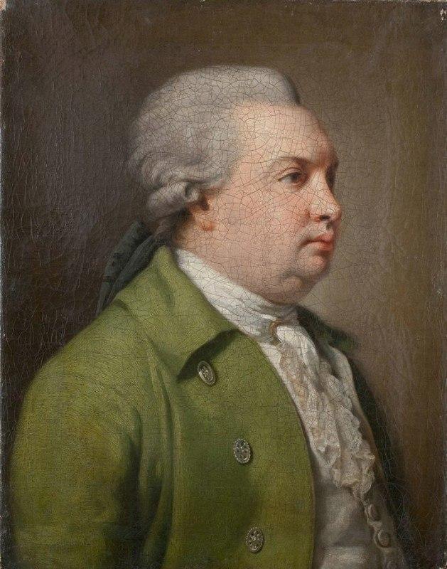 Д.И. Фонвизин. Гравюра Е.О. Скотникова. 1821