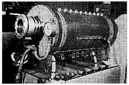 Одна из отечественных лазерных установок для создания плазмоида