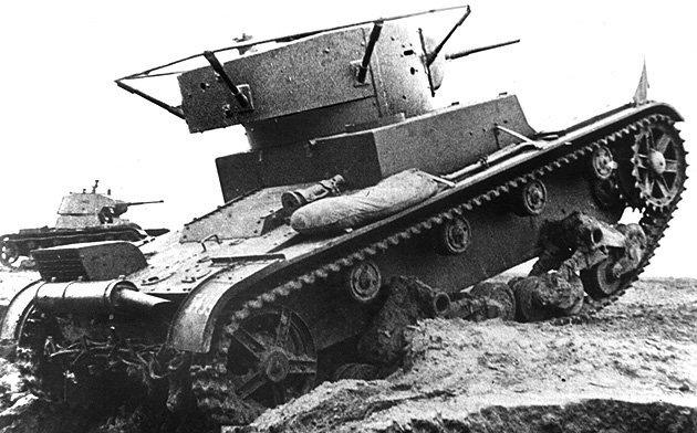 Танк Т-26 со сварным корпусом