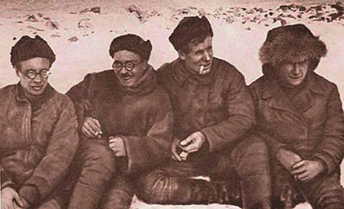 Н.Н.Урванцев, Г.А.Ушаков, В.В.Ходов и С.П. Журавлев