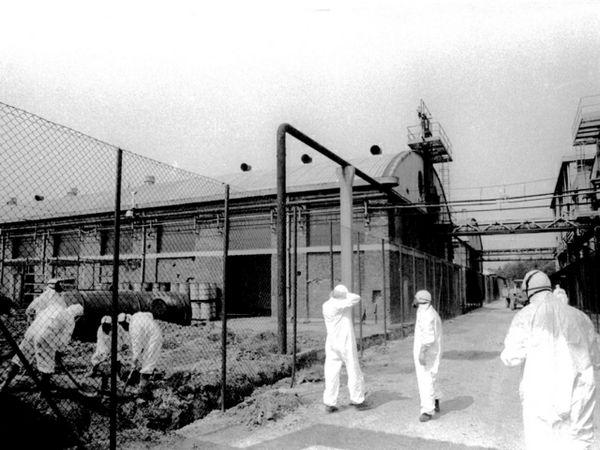 Авария на химическом предприятии в городе Севезо (Италия)