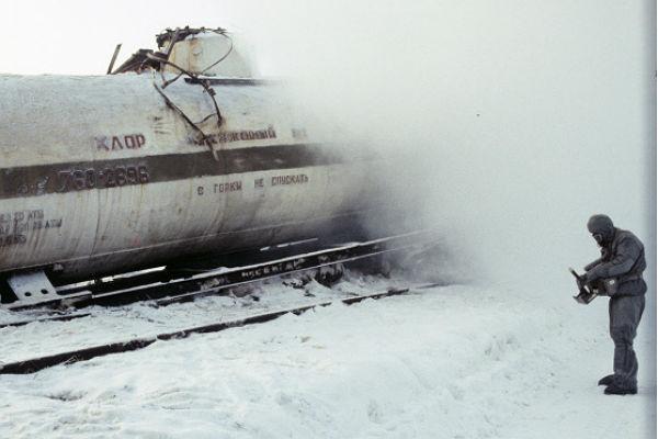 Ликвидация последствий химической аварии на железнодорожном транспорте