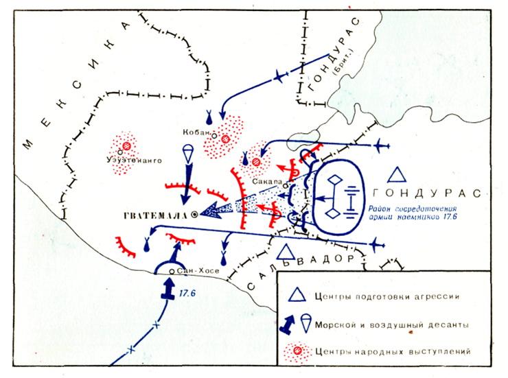 Вооруженная интервенция в Гватемалу в 1954 г.