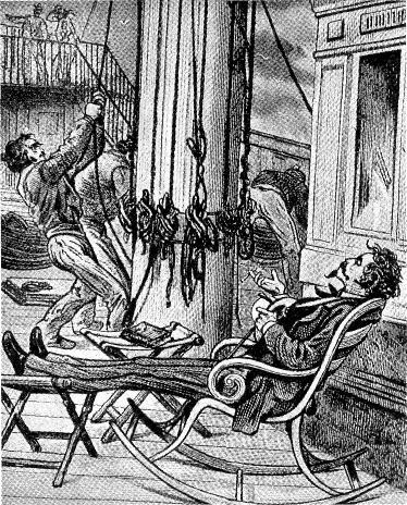 Жюль Верн на палубе «Грейт Истерн»
