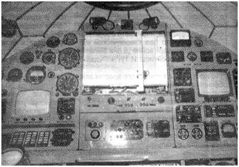 Приборная доска аппарата ОСА-3-600