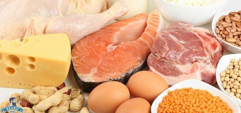 Содержание белков в пище