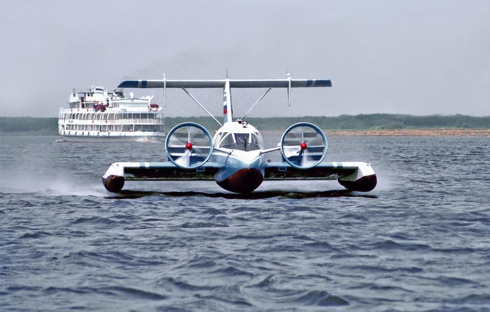"""Экраноплан """"Волга-2"""""""
