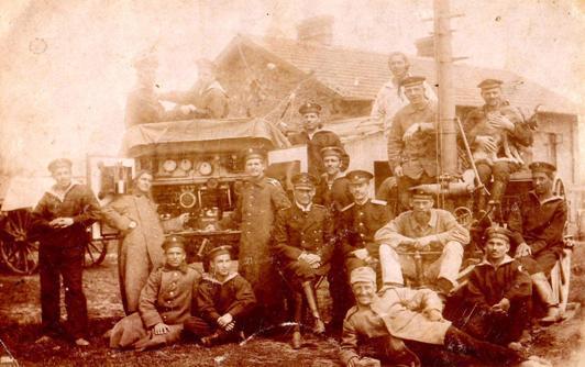 Радиостанция Telefunken, 1917 г.
