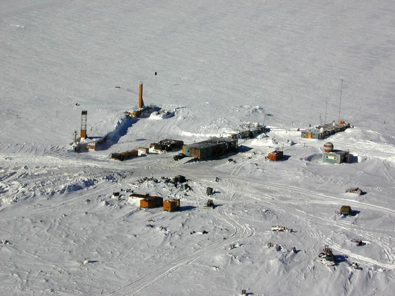 Российская Антарктическая станция Восток