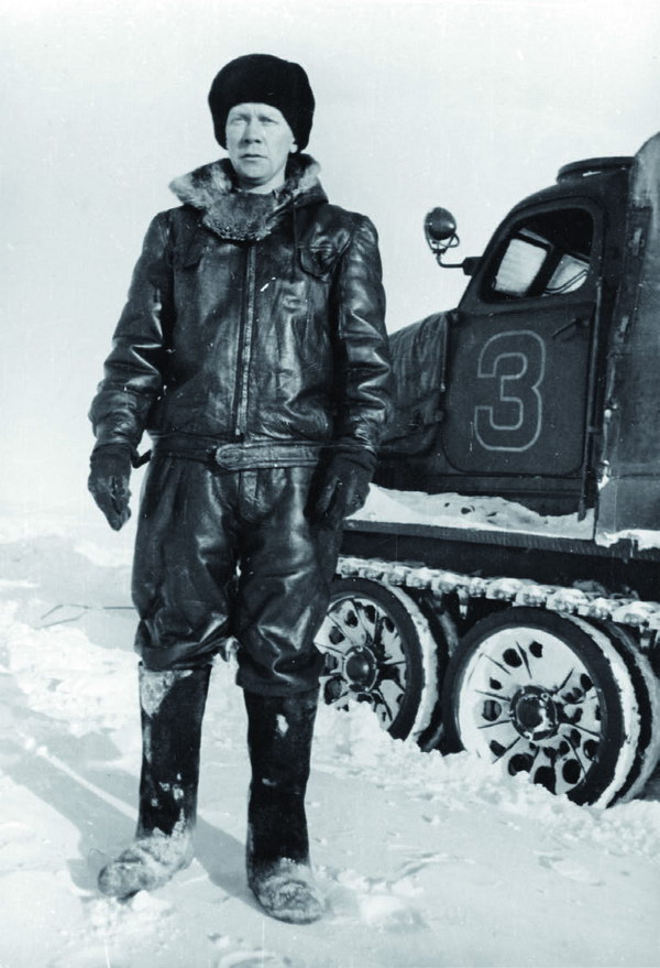 Вячеслав Аверьянов, начальник станций Восток и Восток-1. 1957 год