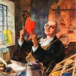Создание стекольного производства и воссоздание технологии производства цветного стекла в России М.В. Ломоносовым