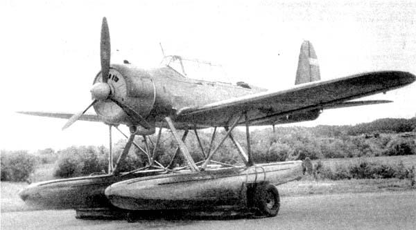 Ar.196 с мотором АШ-62ИР на испытаниях в СССР