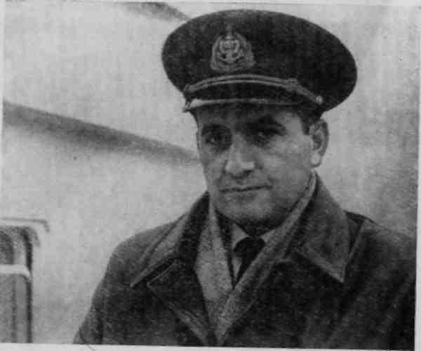 Капитан А.М.Оганов