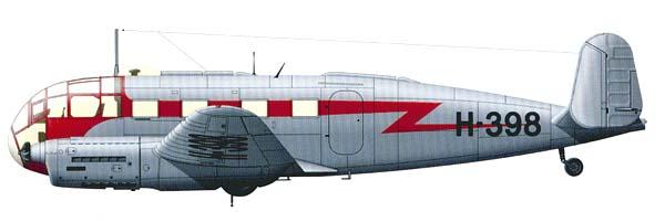 Si.204D полярной авиации Главного управления северного морского пути СССР