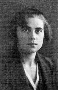 Учительница Иванковской семилетней школы Анна Адольфовна Русецкая, будущая жена Ивана Михайловича. 1935 год