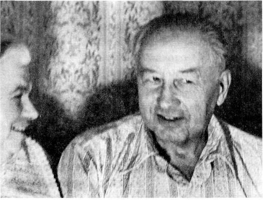 Иван Михайлович и его жена Анна Адольфовна. 1976 год