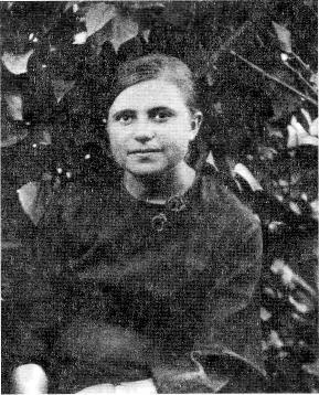 Анна Русецкая или, по-семейному, Галка. 1941 год