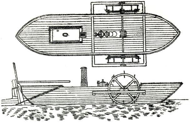 Первый в России пароход Карла Берда