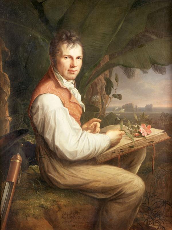 Александр Гумбольдт (1769-1859)