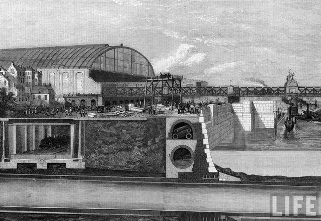 Лондон (вторая половина XIX века): метро, водопровод и канализация