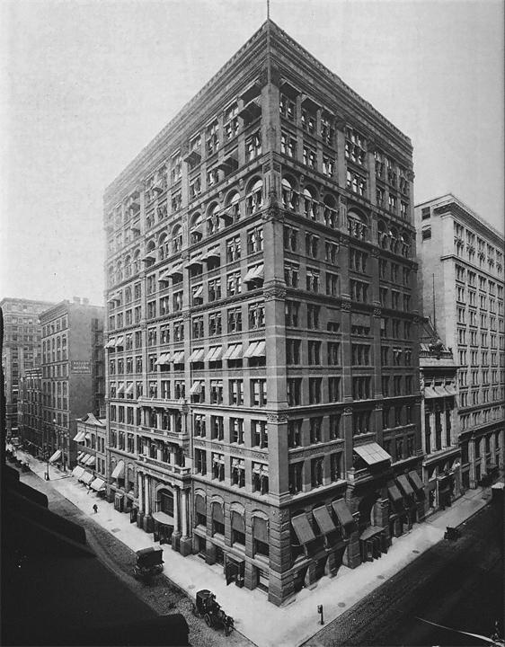 Первый в мире «небоскрёб» (г. Чикаго)
