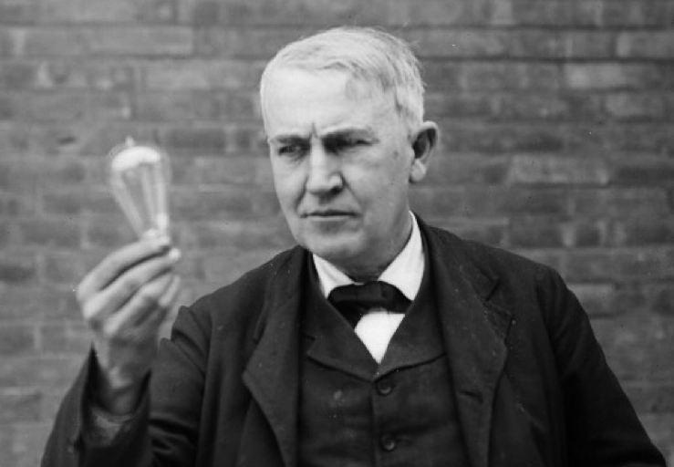 Т.А. Эдисон – создатель современной лампы накаливания