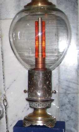 «Электрическая свеча» Яблочкова