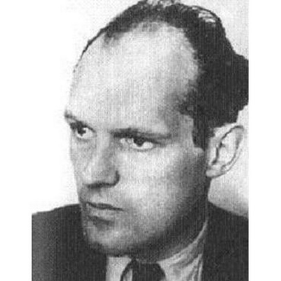 Немецкий авиаконструктор Вилли Мессершмитт (1898-1978)
