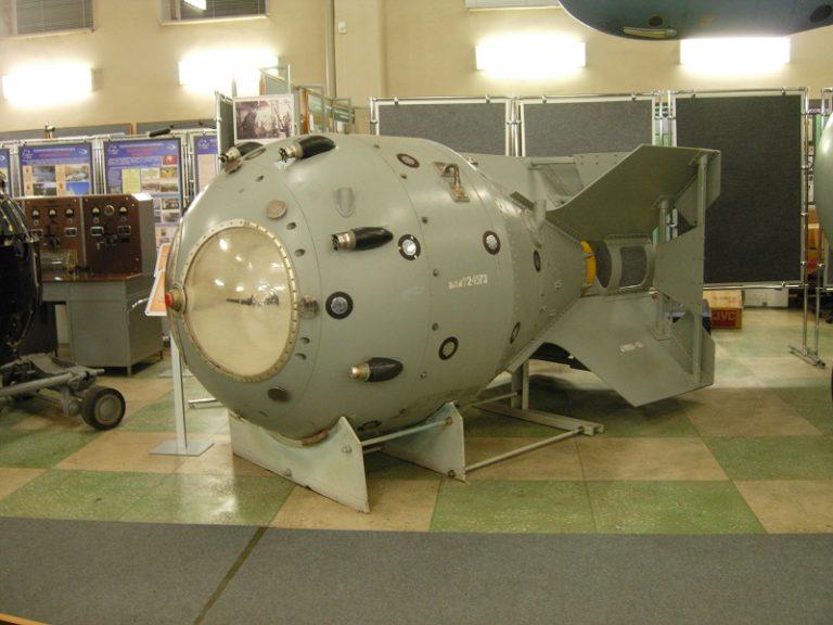 Макет атомной бомбы РДС-1