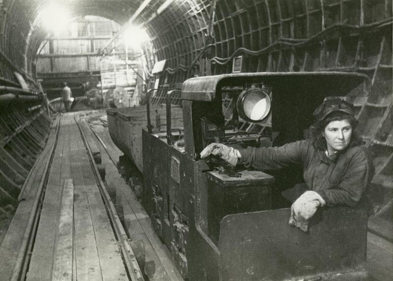 Строительство Ленинградского метрополитена